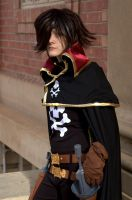 Captain Harlock by Asham