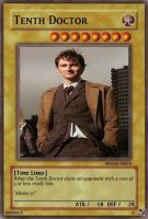 Tenth Doctor Trading Card by RMan021
