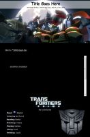 Transformers Prime Journal Skin by TMNT-Raph-fan