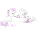 Sweetie x Spike by SweetieBelle-FiM