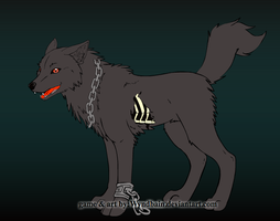 Forbidden (Wolf Form) by PenelopeXdg