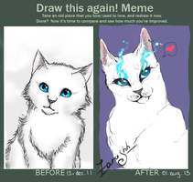 Draw this again!(meme) by Zarushh