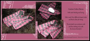Custom Cotton Sleeves by Costumy