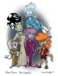 Ghoul School (Main Characters) by DLToon