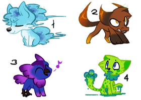 50 Point Adopts - CLOSED by Bloodtaintedsoul