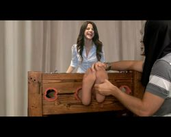 Selena Gomez tickle fake 3 by the70sguy