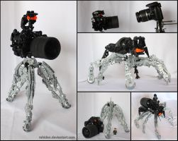 Hero Factory MOC: Camera Spider by Rahiden
