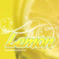 Cool Lemon Layer Style by Romenig