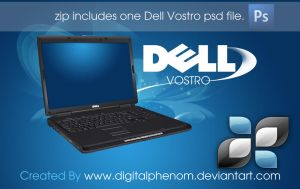 Dell Vostro psd by DigitalPhenom