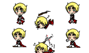 APH: Revolutionary War England Shimeji Preview by TionneDawnstar