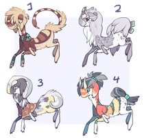Weaver Auction Batch 2 by bananamantis