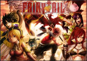 Fairy tail 279 Collab GFC by Kasukiii