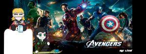 Avengers for facebook by Licsi
