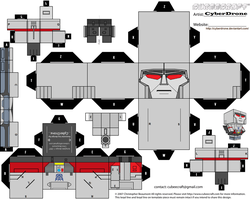 Cubee - Megatron 'G1' by CyberDrone