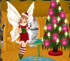 Christmas Fairy psm by LadyIlona1984