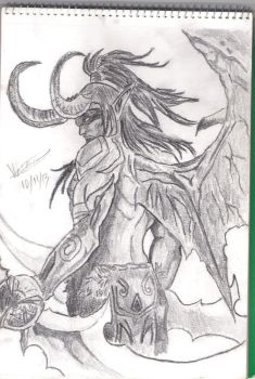Illidan Stormrage (World of Warcraft) by Versanthus
