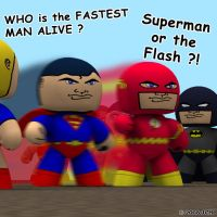 Toys: The Fastest Man Alive by JHoagland