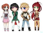RWBY fan art: The Other Group by Grandpa454