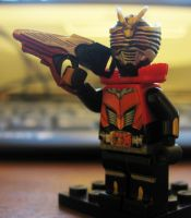 Kamen Rider Ryuki Dragon Knight LEGO Survive by Digger318