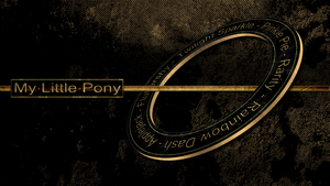 My Little Pony- Mane6 - Rust Ring by pims1978