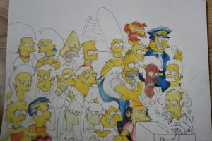 The Simpsons pt.3 by Dimondrawing