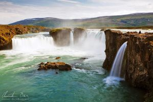 Godafoss, Iceland by Nightline