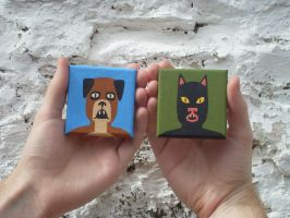 Mini Paintings by Teagle