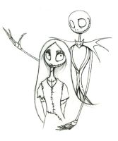 Jack and Sally together... by Jackie-Blaire