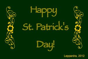 Happy Saint Patrick's Day! by Leppardra