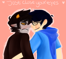 Just Close Your Eyes by marxonmyface