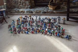 My Bionicle Collection by Blitz-the-Hedgehog