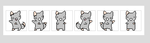 The dancing kitty icon base used by Kimsters-Pictures