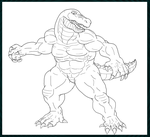 Croc Compound Collab Request WIP Final by DanteVergilLoverAR