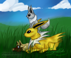 Shiny Baby Pokemon by GingaAkam