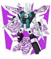 Decepticon Ninja SixShot by Deadman0087