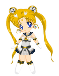 Chibi: Brillare Sailor Moon by MahouChikara