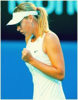 Maria Sharapova_AO11 by leftysrock
