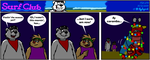 The Surf Club Comic 270 by BluebottleFlyer