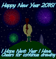 .:. New Year 2016 .:. by VelociPRATTor