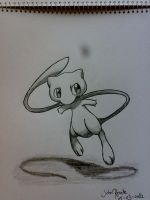 Mew by johnrenelle