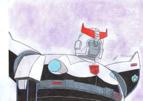 Prowl transformers g1 by ailgara