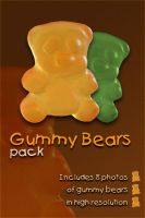 Gummy Bears pack by JenniStock