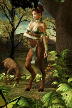 Faun by DesignsByEve
