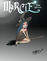 New character:Marcie the witch by chillyfranco