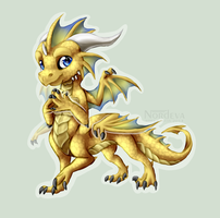 Chibi Dragoniade by Nordeva