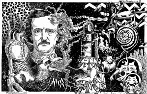 The Weird Story of Mr.Poe by marcgosselin