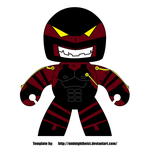 Brawn _Mighty Muggs Version_ by TransformersMarvel