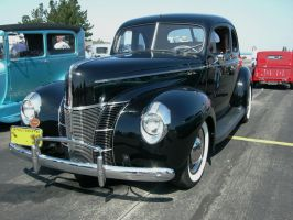 1940 Ford DeLuxe in a Tuxedo by RoadTripDog