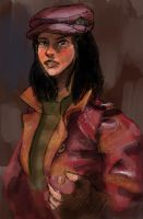 Piper, 'Fallout 4' (painted) by stevenf