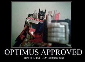 Optimus Approved by RyouKazehara